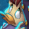 Darkly Dawns the Duck - detail
